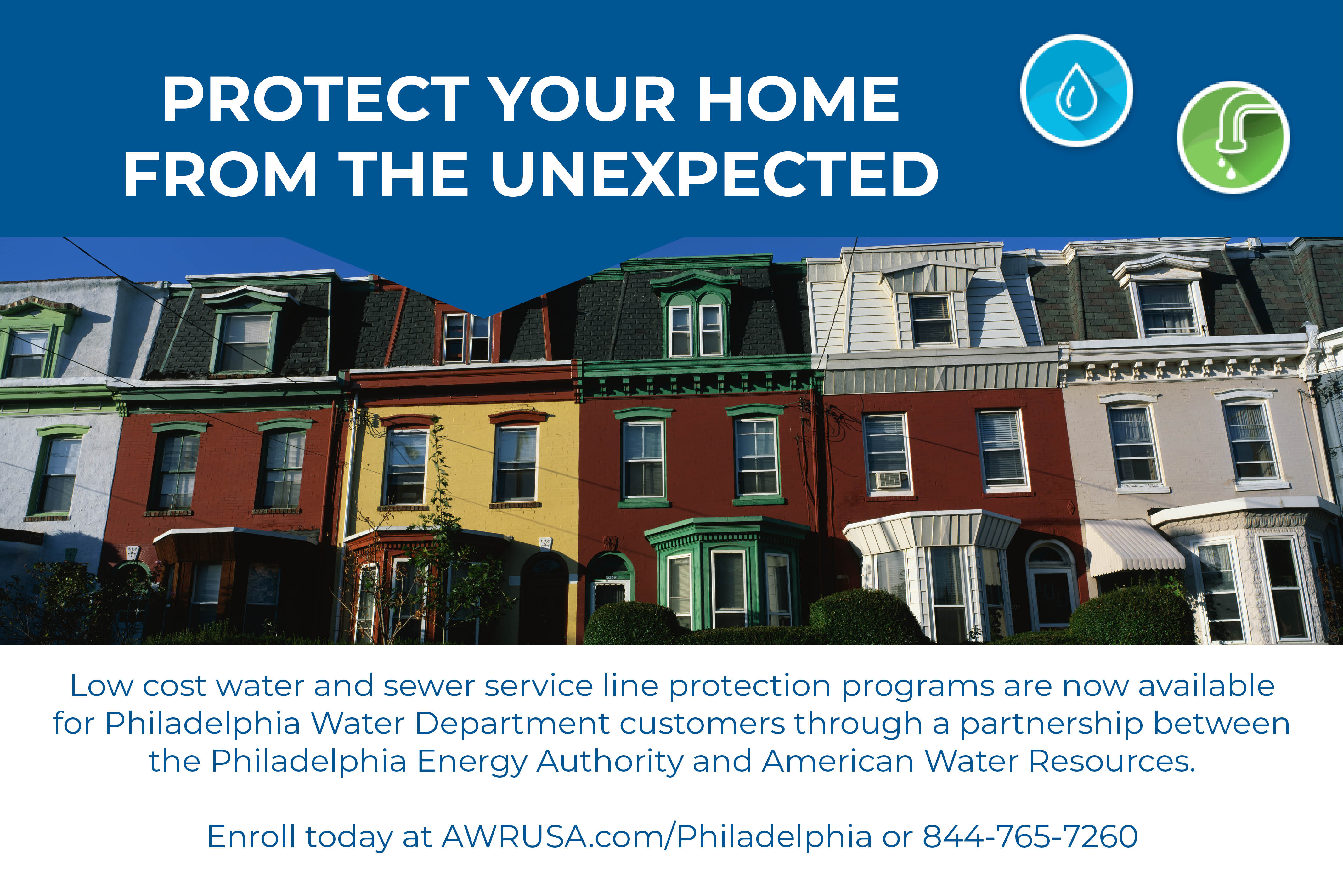 Water and Sewer Line Protection Program | Philadelphia